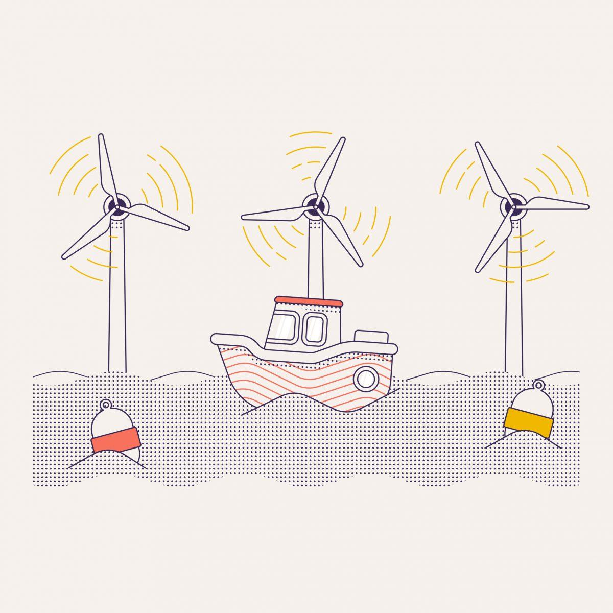 Pourquoi installer les éoliennes en mer du Nord ?